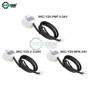 XKC-Y25-PNP XKC-Y25-V T12V Non-Contact Liquid Level Sensor Switch Detector Outer Adhering Level Sensor NPN PNP RS485 DC 5V-24V xkc y25 pnp xkc y25 v t12v non contact liquid level sensor switch detector outer adhering level sensor npn pnp rs485 dc 5v 24v