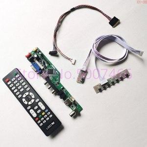 Image 1 - Для N156BGE L41 60Гц WLED 15,6 дюймовый ЖК экран для ноутбука 1366*768 40 контактный LVDS HDMI/VGA/AV/Аудио/RF/USB Комплект платы контроллера TV56