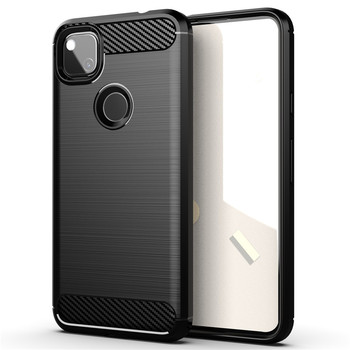 go google Shockproof Bumper For Google Pixel 4A Case For Google Pixel 4A Cover Soft Silicone Protective Phone Bumper For Google Pixel 4A
