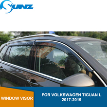 Sun Shade Awnings Shelters For Volkswagen TIGUAN L 2017-2019  Side window deflectors 2017 2018 2019 SUNZ
