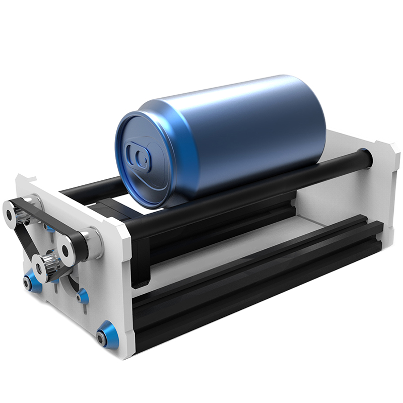 SHGO HOT-Rotate Engraving Module A3 Lasing Engraver Machine Y Axis Diy Update Kit With Stepper Motor Wire For Column Cylinder En