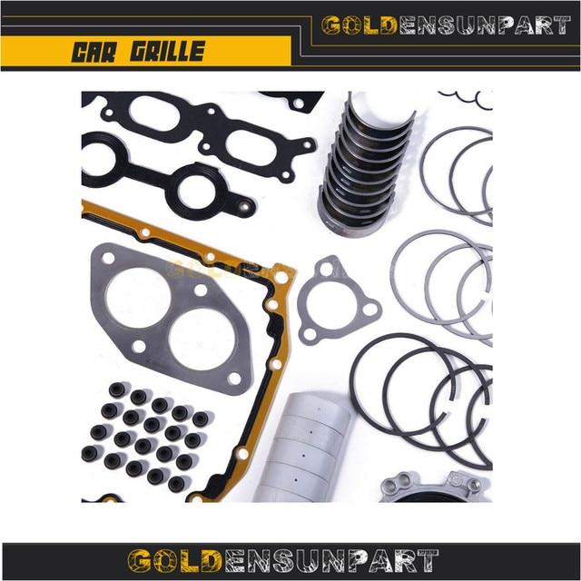 06B 107 065 N Engine Piston Gasket Seal Bearing Overhaul Kit For VW Jetta Passat Golf Audi A3 A4 A6 TT 1.8T AWP 058103383K 6