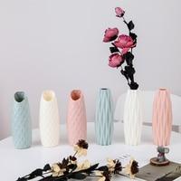 Nordic style Flower vase, Origami Plastic Vase, Imitation Ceramic