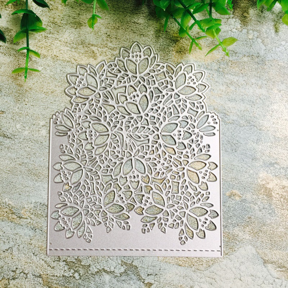 Cover Flower Metal <font><b>Cutting</b></font> <font><b>Dies</b></font> Scrapbooking Craft <font><b>Dies</b></font> Cuts <font><b>Christmas</b></font> DIY Album Card Make Stencils <font><b>Die</b></font> Template New 2020 image