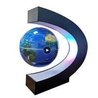 Lévitation magnétique Globe étudiant école matériel d'enseignement veilleuse globe cadeaux créatifs 110/220V AC alimentation européenne