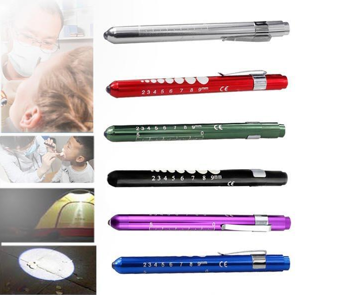 LED Torch Doctor LED Pen Light Led Flashlight Portable Medical First Aid EMT Emergency Useful Multi Function