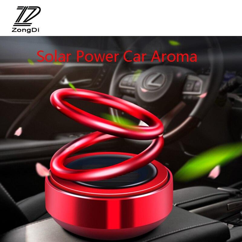 Solar Auto Rotation Car Air Freshener Perfume Seat for Ford focus 3 mondeo kuga Volkswagen Polo Golf 5 Passat  Jetta Tiguan 2020