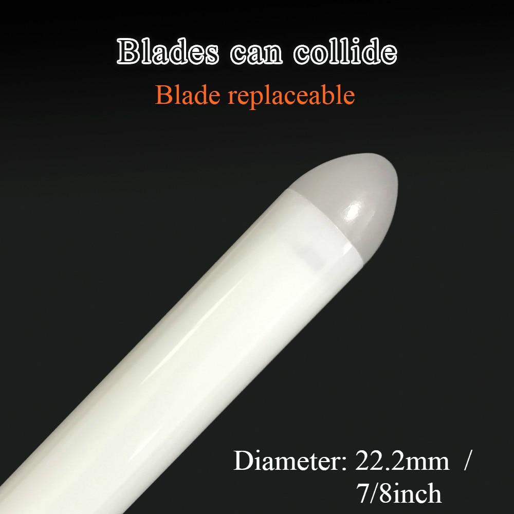Durable Metal LED Lightsaber with Sound & Vibration 1