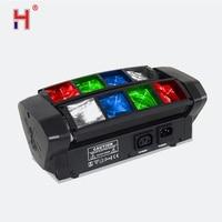 Professionelle disco beleuchtung 8x10W 4in1 RGBW spinne led moving head strahl licht 8 augen led DMX DJ ausrüstung