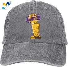 Unisex clássico los angeles championship 2020 pai chapéu masculino feminino boné de beisebol ajustável chapéu sanduíche
