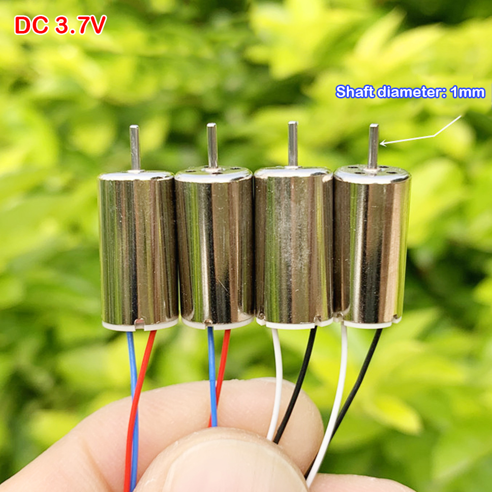 HOT Small 8mm*16mm Coreless HM Motor DC 3.7V Electric Mini Micro 816 Coreless Motors 55000RPM High Speed DIY RC Drone Quadcopter