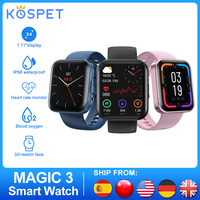 KOSPET MAGIC 33 Smart Watch uomo donna Full Touch IP68 impermeabile cardiofrequenzimetro monitoraggio del sonno Sport Band Smartwatch per IOS Android