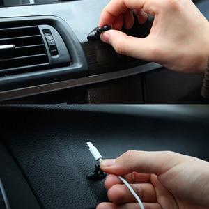 Image 3 - Soporte para cables de coche, fijador de clips multifuncional, organizador de cables de carga para coche, Clip para cables de auriculares de alta calidad, 8 Uds.