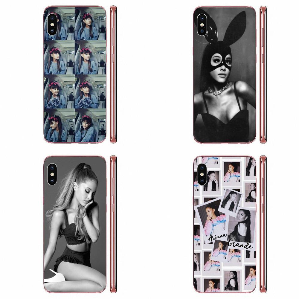 Phone Cases For Galaxy J1 J2 J3 J330 J4 J5 J6 <font><b>J7</b></font> J730 J8 2015 <font><b>2016</b></font> 2017 2018 mini Pro <font><b>Sexy</b></font> Cat Ar Ariana Grande Novelty <font><b>Fundas</b></font> image