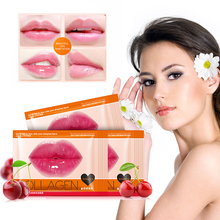 1 Pc Moisturizing Lip Mask Anti Ageing Wrinkle Collagen Lip Patch Pad Gel For Lip Skin Care TSLM2
