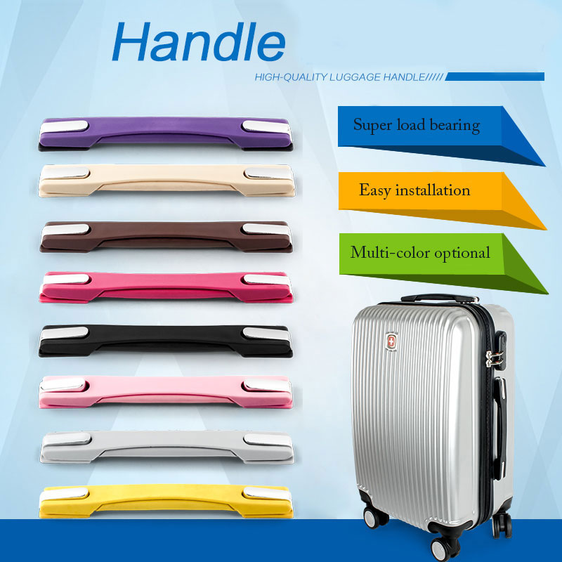 Rubber Extensible Handles for Suitcase//luggage handle replacement repair DIY RB-038A#