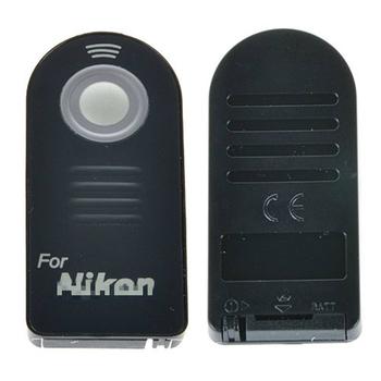 ML-L3 bezprzewodowa zdalnie sterowana okiennica Release do kontrolera Nikon D3200 D3300 D3400 D5100 D5300 D5500 D7000 D7100 d3100Infrared tanie i dobre opinie FUNSNAP CN (pochodzenie) wireless Wireless Camera Shutter Release for Nikon For Nikon D40 D40X 8400 8800 Camera For Nikon D7000 D5100 D5000 D3000