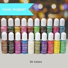 QIAOQIAO DIY 15g/Bottle Pigment Epoxy UV Resin Handmade Art Crafts Coloring Dye Colorant