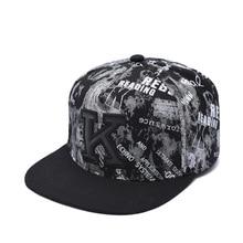 Baseball-Cap Flat-Brimmed-Hat Hip-Hop Sport And Men Letter Trend Outdoor Korean-Fashion