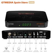 GTMEDIA-receptor de TV satelital V7 Pro, decodificador DVB S2 S2X T T2 Combo HEVC de 10 bits con USB, Wi-Fi, compatible con H.265, sintonizador SAT España ccam, novedad de 2020