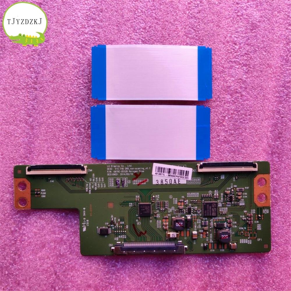 Good Test T-CON Board 6870c-0532b 6871L-3850A B 3831F LC-49CFG6001K LT-55C550 TX-49DS500B 49lf5400-ub 55lj550m-ub 55lj5500-ua