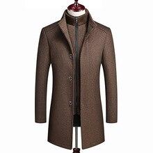 Men Jacket Trench Coat Men Wool Nice Fashion High-end Leisur