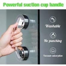 Powerful Suction Cup Armrest Wall Mounted Bathroom Bathtub Handrail Safety Grab Bar For Old People Bathroom Handle Armrest