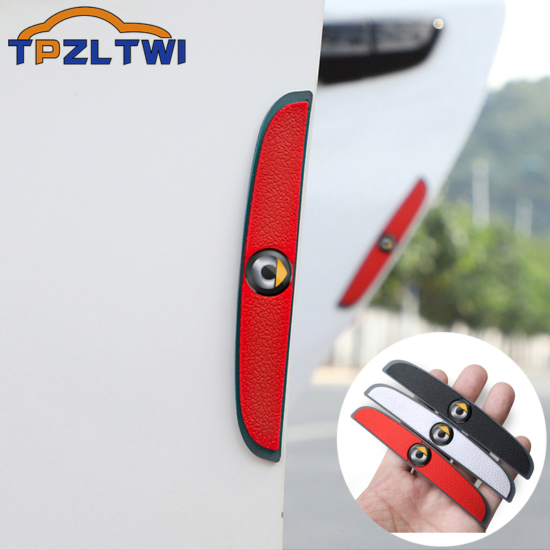 For Smart Fortwo Forfour 451 453 450 452 454 Accessories Car Anti-Collision Strip Car Door Anti-Scratch Protector Stickers