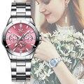 CHENXI женские модные роскошные часы Женские кварцевые наручные часы женские Роскошные Стразы циферблат часы Reloj Mujer