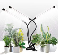Grow Light for Indoor Plants Phytolamp Clip Plant Lights with Flexible Gooseneck & Timer Setting 4/8/12H,5 Dimmable Levels