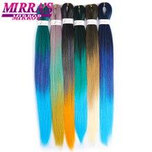 Mirra's Mirror Synthetic Easy Braid Hair Ombre Braiding