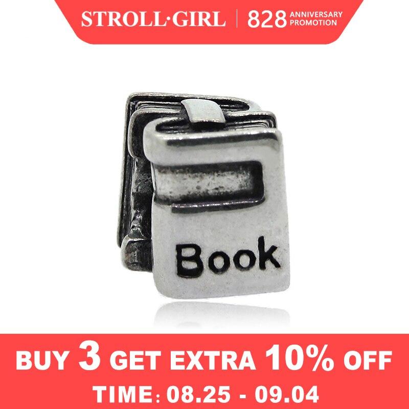 Book-Beads Bracelet Pendant Jewelry-Making 925-Sterling-Silver Authentic Original Pandora