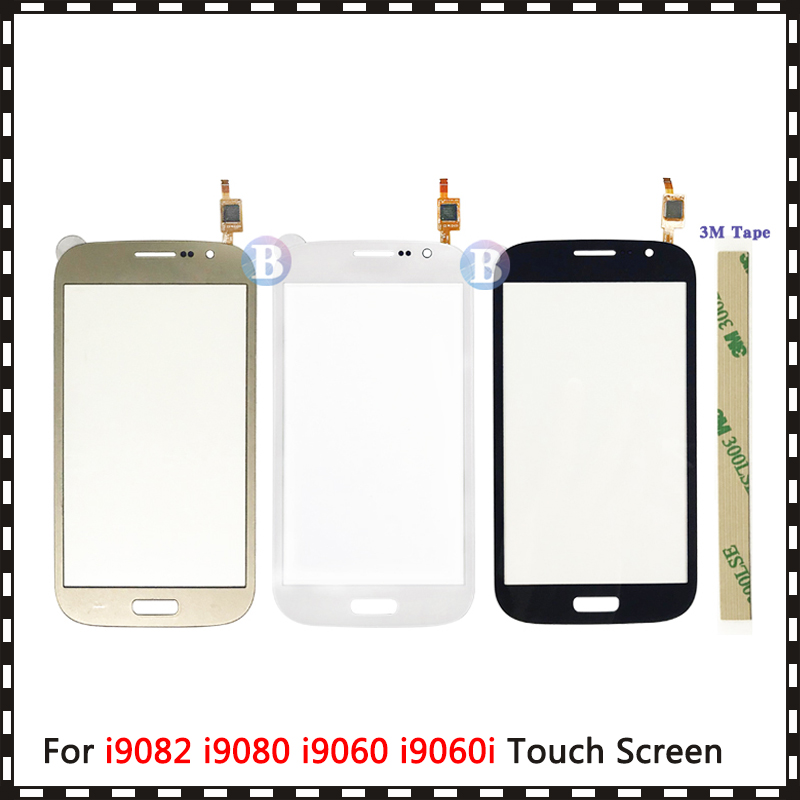 For Samsung Galaxy Grand GT I9082 I9080 Neo I9060 I9062 I9063 Plus I9060i Touch Screen Digitizer Sensor Outer Glass Lens Panel
