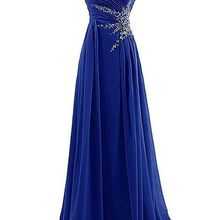 Chiffon Bridesmaid Dresses Sequins Wedding Angelsbridep Sweetheart Beads Sparkly Vestido-De-Festa-De-Casamento