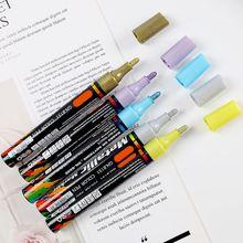 4/8/15/20 Colors Acrylic Paint Marker Pen for Album Glass Ceramic Rock Fabric U1JA