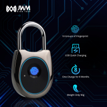 JWM Smart Door Lock Fingerprint Fingerprint Lock Keyless Rechargeable USB Door Lock Fast Unlock