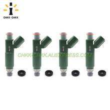 CHKK-CHKK 23250-22040 23250-0D040 fuel injector for TOYOTA Corolla / MR2 / Celica / Avensis / RAV4 1.8L 1ZZ 10set fuel injector repair kits filter removal tool 23250 28080 23250 0h030 fit for toyota corolla camry 2 4l with free ship