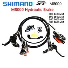Shimano Deore XT M8000 дисковый тормоз Горный велосипед XT Hidraulic дисковые тормоза 11 Скорость MTB Ice-Tech слева и справа 800/1400 мм