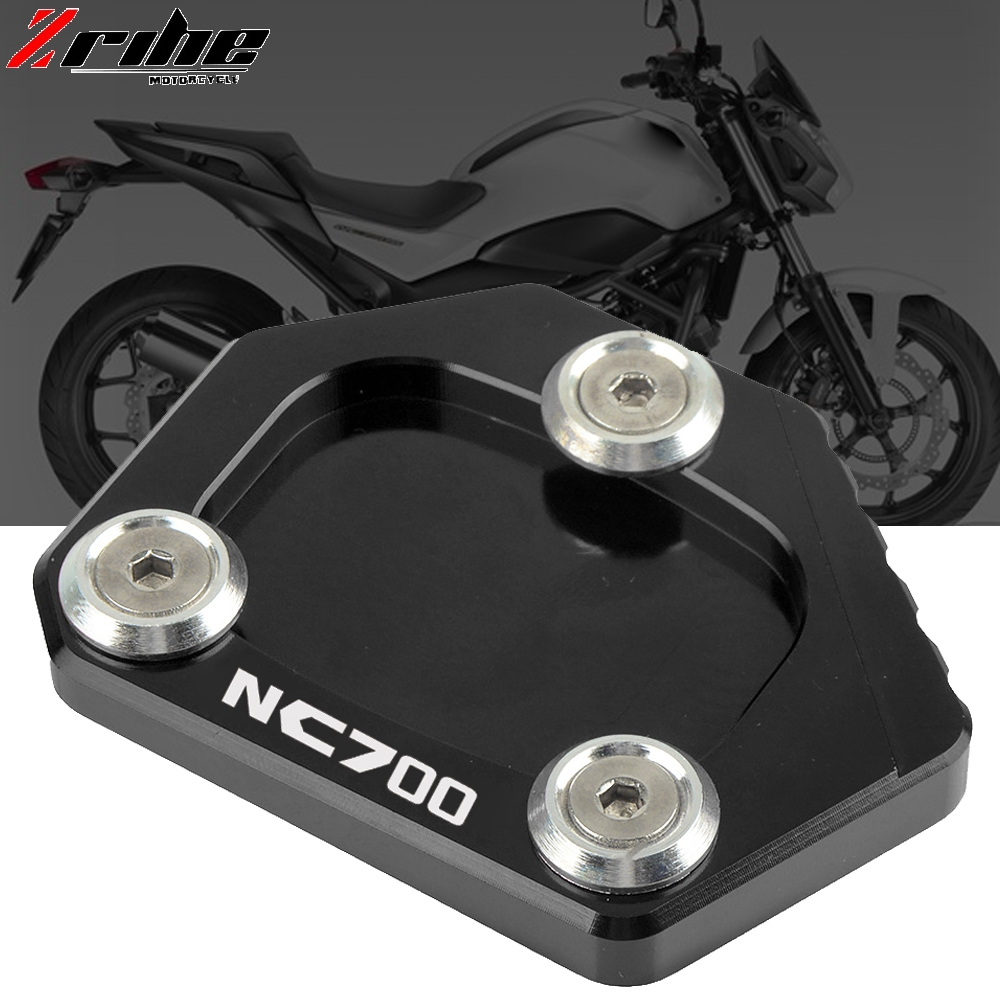 Motorcycle Kickstand Foot Side Stand Extension Pad Support Plate For HONDA NC700S/X NC750S/X NC700 NC700 NC700X 2012 2013 2014