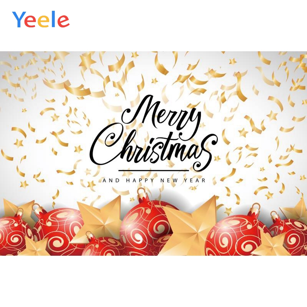Yeele Christmas Photocall Party Decor Garland Stars Photography Backdrops Personalized Photographic Backgrounds For Photo Studio in Background from Consumer Electronics
