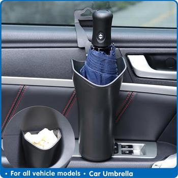Parasol samochodowy uchwyt wieszaczki na parasol wielofunkcyjny organizator samochodu uchwyt na parasol wodny akcesoria do wnętrz samochodowych tanie i dobre opinie CN (pochodzenie) Z tworzywa sztucznego Umbrella Holder Bottle Holder Storage Organizer