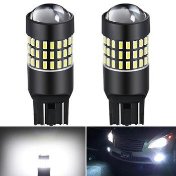 2x T20 7443 7440 LED Bulb Auto Car DRL Lamp Tail Brake Reverse Light For BMW E90 E91 E92 E93 Hyundai Accent Azera Elantra Sonata image