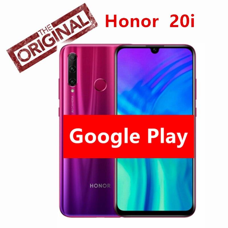 Original honor 20i honor 20 lite teléfono móvil 6,21 pulgadas Hisilicon Kirin 7 Octa Core Android 9,0 cara huella dactilar ID-in Los teléfonos móviles from Teléfonos celulares y telecomunicaciones on AliExpress - 11.11_Double 11_Singles' Day 1