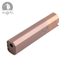 Kublai CO OSPRE Y SUPPRESSO 14mm ccw tornillo con Flashhide