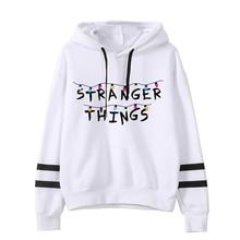 Stranger Things Hoodie Woman Hooded Hoodies Kpop  Sweatshirts Kawaii Korean Oversized Harajuku Hip Hop Hoodie Sweatshirt Men