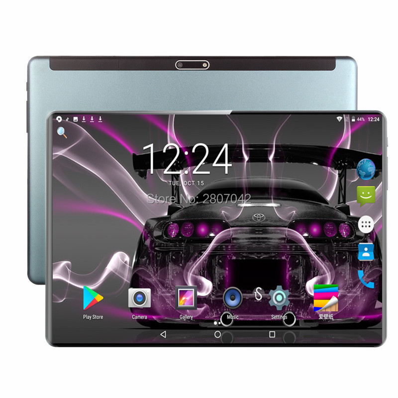 2020 Tablet 128G Global Bluetooth Wifi Android 9.0 10.1 Inch Tablet Octa Core 4G LTE 6GB RAM 128GB ROM 2.5D Screen Tablets Pc