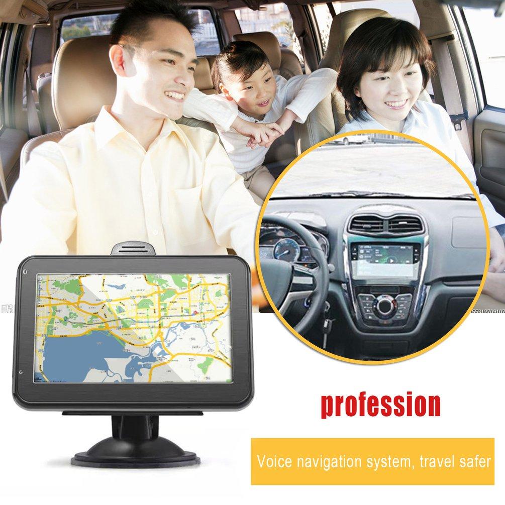 800MB RAM + 8GB ROM navegación GPS 4,3 pulgadas pantalla táctil portátil GPS 1800mAh batería europea mapa navegador soporte tarjeta TF Quad core Android 8,1 para HYUNDAI IX45 SantaFe 2013, 2014, 2015, 2016, 2017 Multimedia estéreo reproductor de DVD del coche de navegación GPS Radio