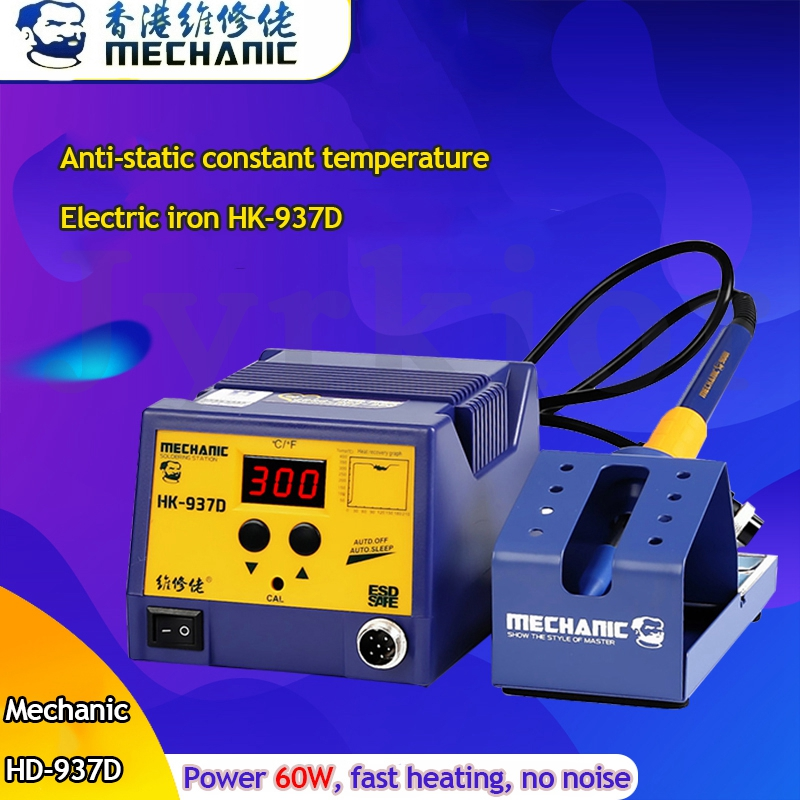 MECHANIC Intelligent Automatic Sleep Constant Temperature  Soldering Station Adjustable Electric Soldering Iron Welding Tool|Hand Tool Sets|   - title=