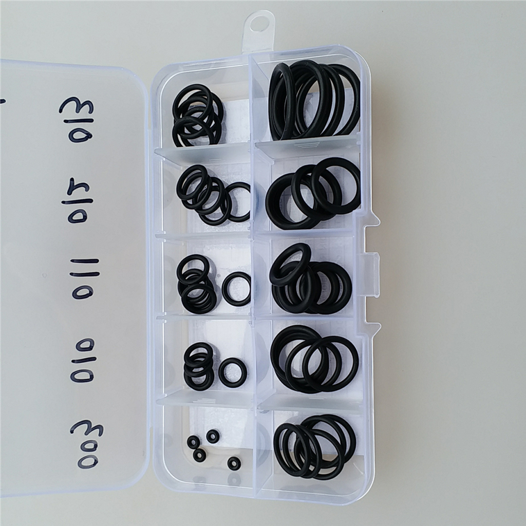 Set 50 Dive O Ring Kit & Case For Scuba Diving Tank Hose Valve Camera Gear Kit - Portable & Durable