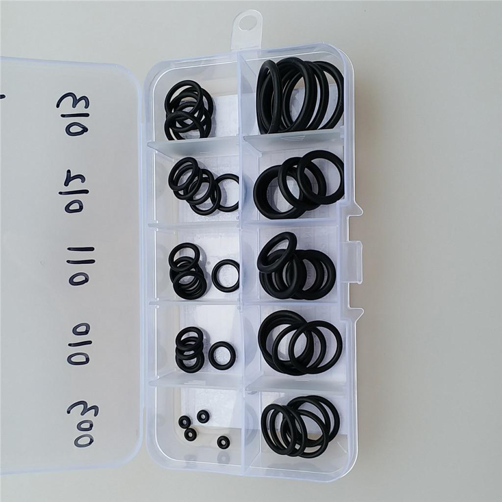 Set 50 Dive O Ring Kit & Case For Scuba Diving Tank Hose Valve Camera Gear Kit - Portable & Durable